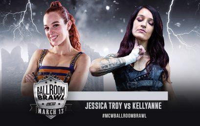 Kellyanne vs. Jessica Troy Announced for Ballroom Brawl!