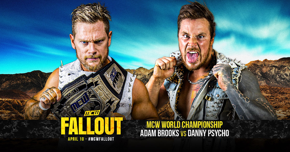 MCW CHAMPIONSHIP MATCH CONFIRMED FOR MCW FALLOUT