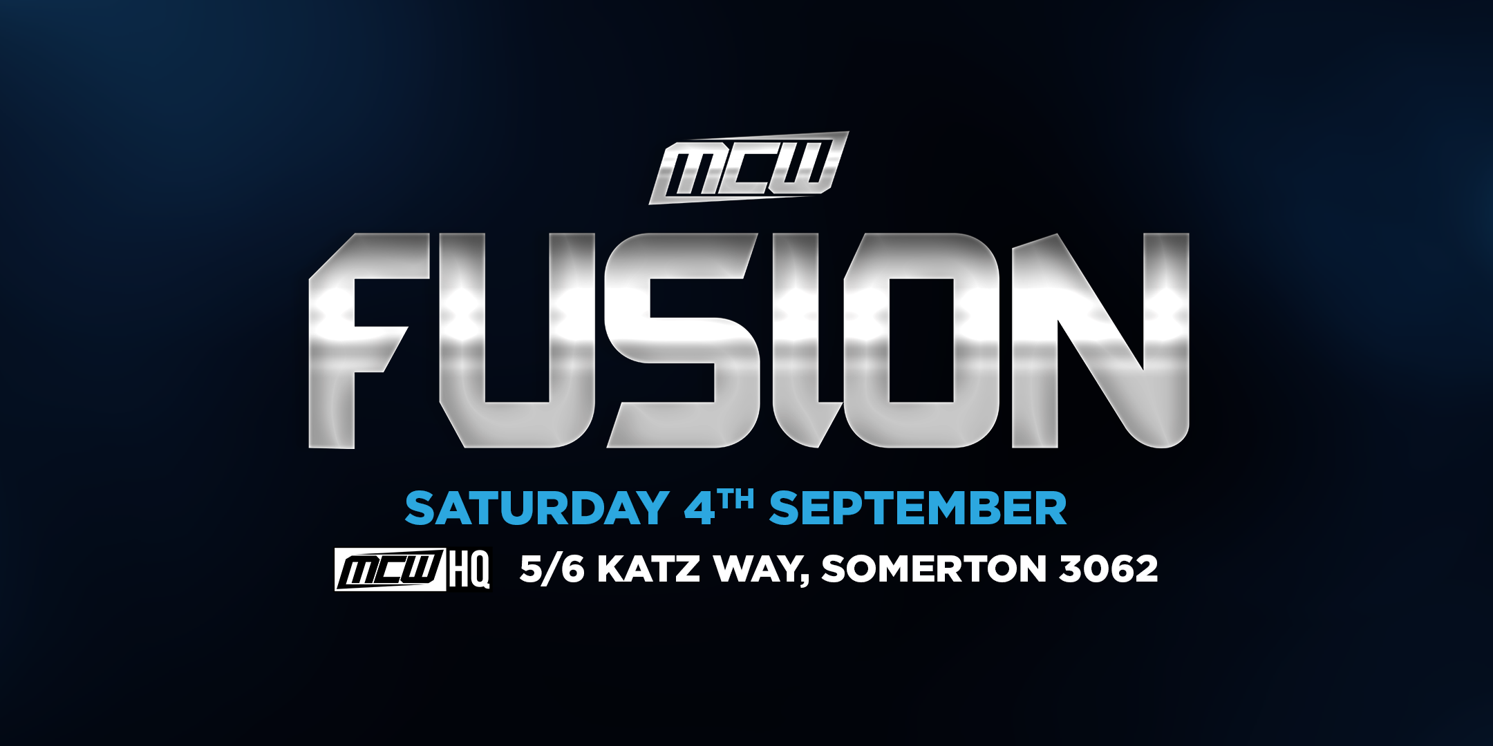 MCW FUSION – SEPTEMBER AT MCW HQ