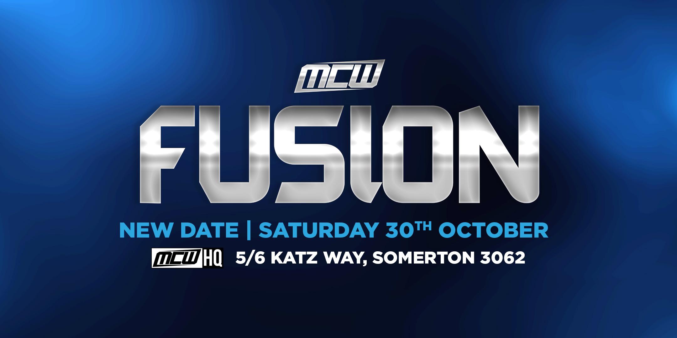 MCW FUSION – Announcement